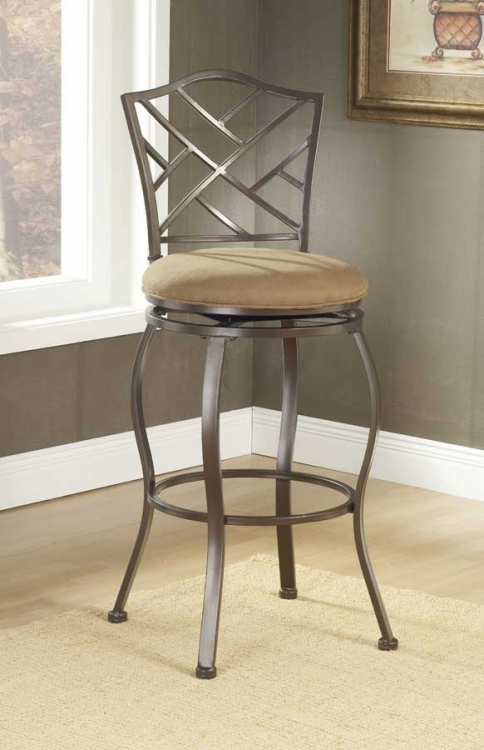 Hanover Swivel Bar Stool - Hillsdale