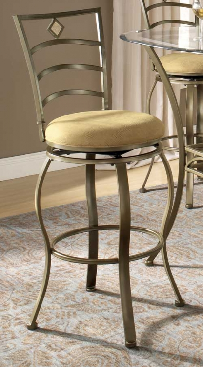 Marin Swivel Bar Stool - Hillsdale