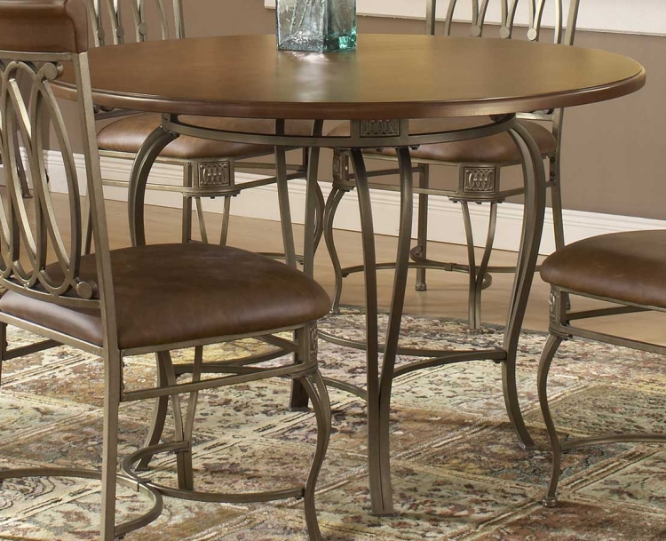 Montello Round Dining Table 45 Inch - Hillsdale