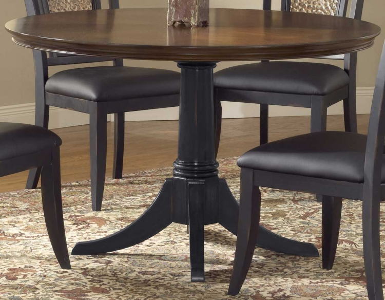Norwood 48 Inch Pedestal Dining Table