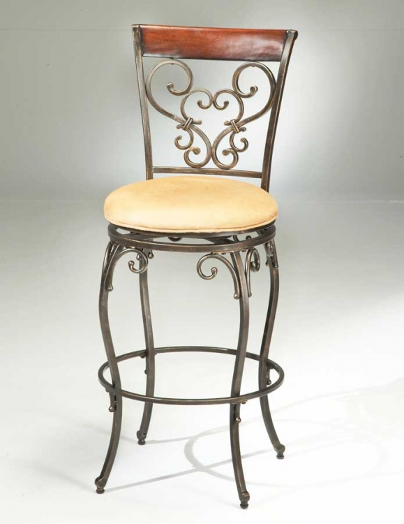 Knightsbridge Swivel Counter Stool