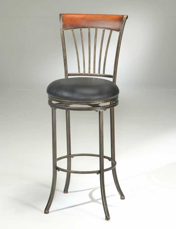 Riley Swivel Bar Stool - Hillsdale
