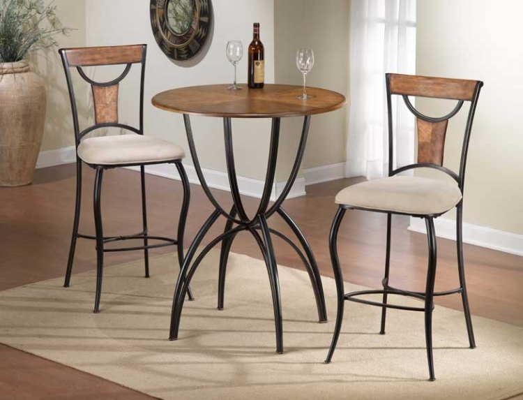 Pacifico Bistro Table Set - Hillsdale