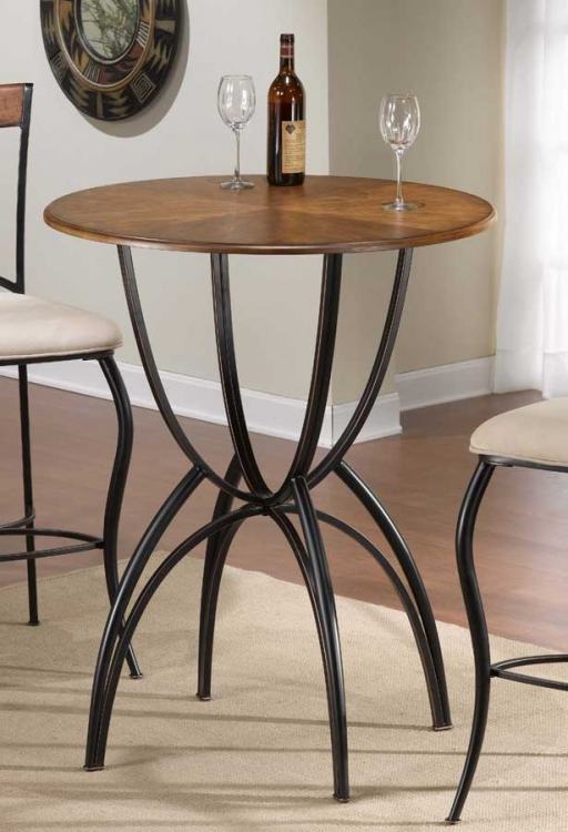 Pacifico Bar Height Bistro Table - Hillsdale