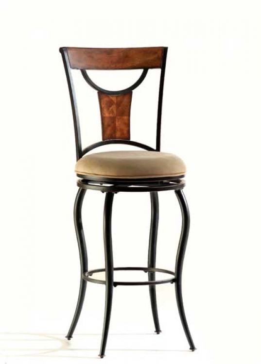 Pacifico Swivel Bar Stool - Hillsdale
