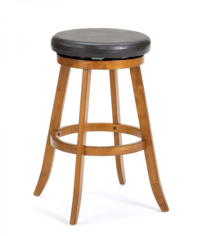 Sylvan Swivel Counter Stool - Oak - Hillsdale