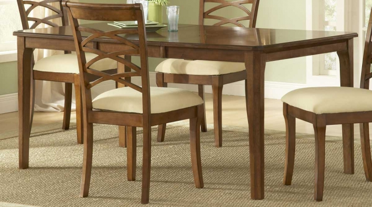 Tailored Rectangle Dining Table With Butterfly Leaf