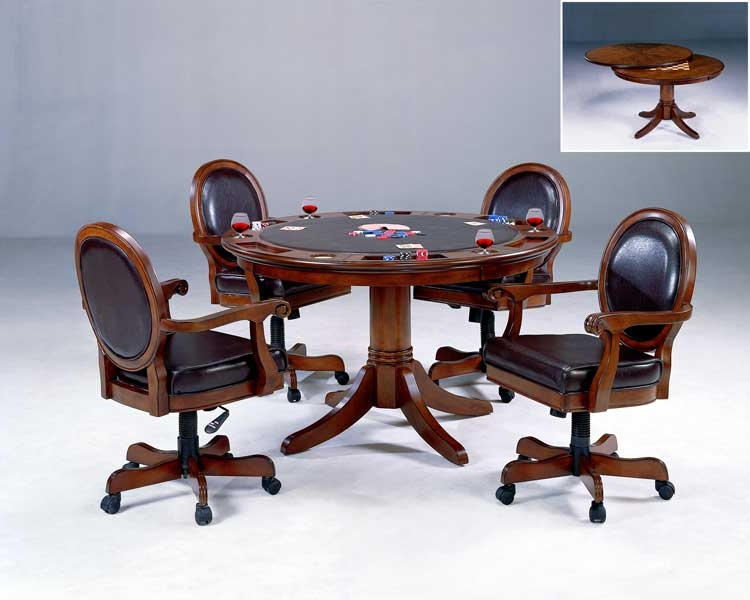 Warrington Game Table Set Special - Hillsdale