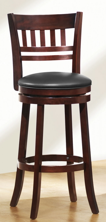 Edmond Swivel Bar Height Chair - Homelegance