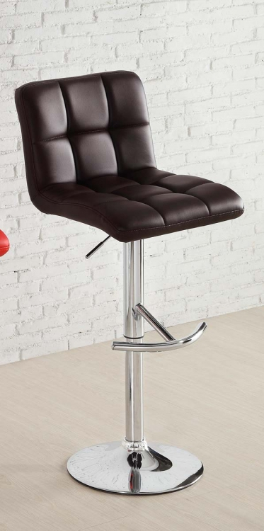 1157BRW Ride Swivel Stool - Brown