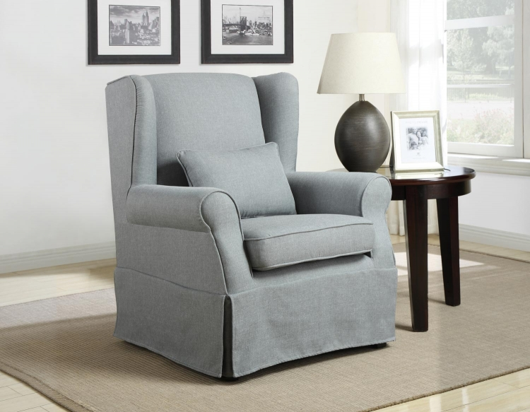 1167 Accent Chair - Grey - Homelegance