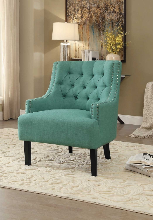 Charisma Accent Chair - Teal