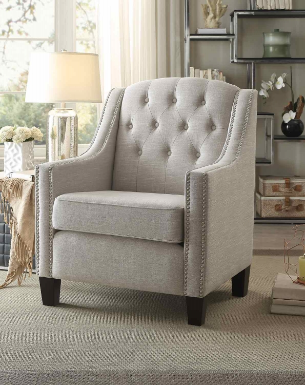 Harmony Accent Chair - Neutral Beige