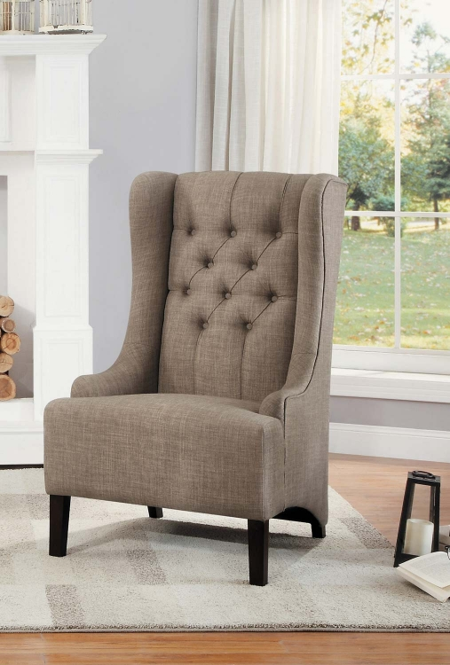 Devon Accent Chair - Brown