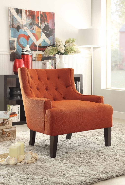 Dulce Accent Chair - Orange