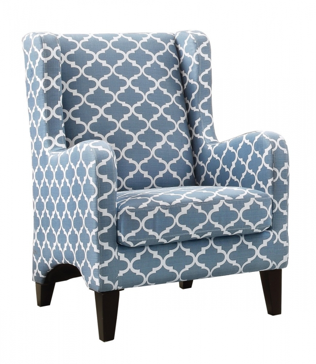 Adlai Accent Chair - Blue