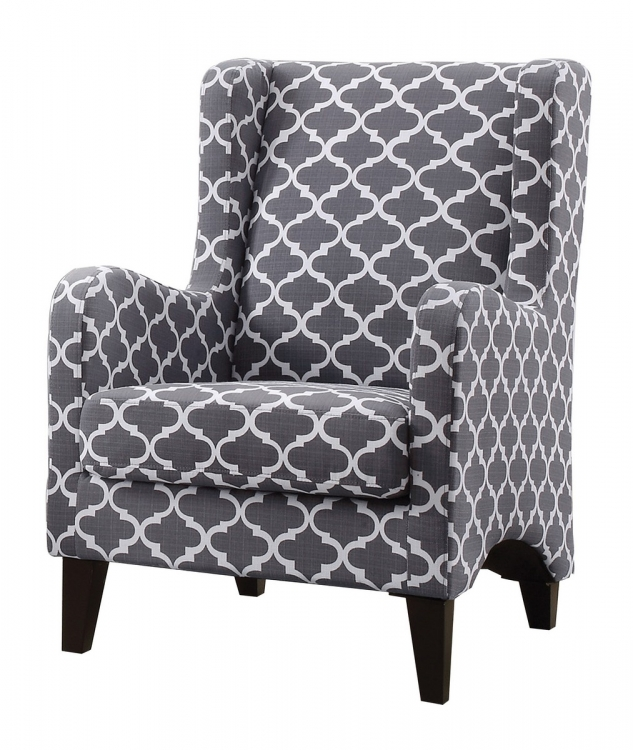 Adlai Accent Chair - Grey