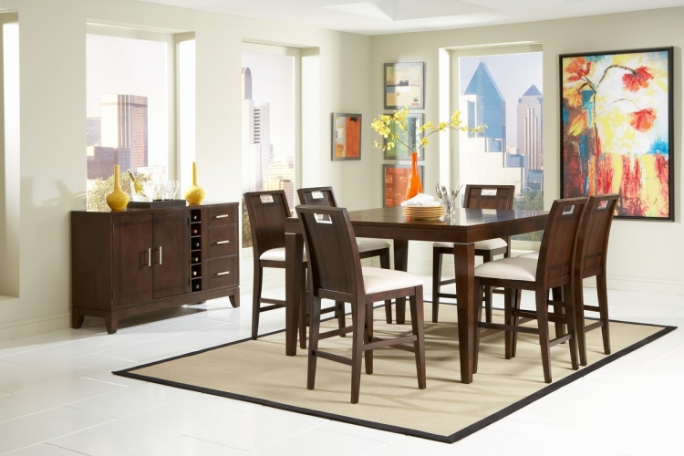 Keller Counter Height Dining Set - Homelegance