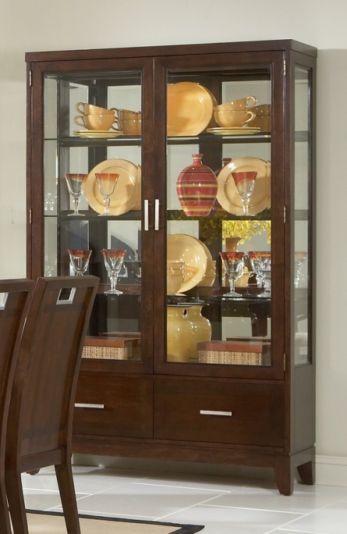 Keller China Cabinet - Homelegance