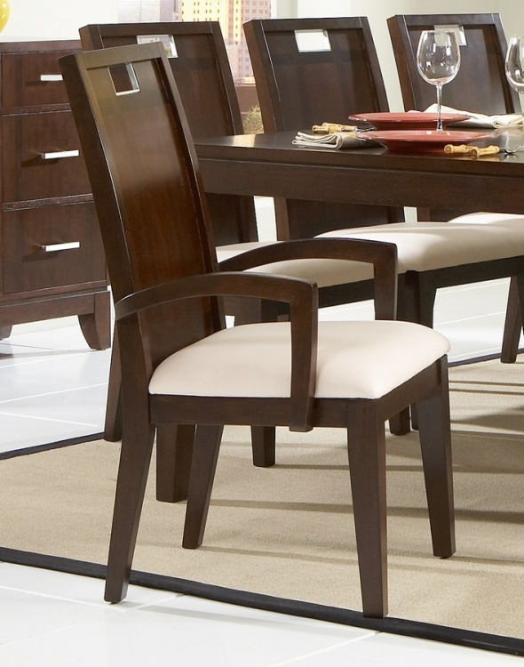 Keller Arm Chair in Leatherette