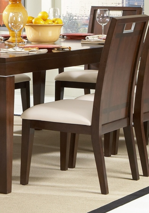 Keller Side Chair in Leatherette - Homelegance