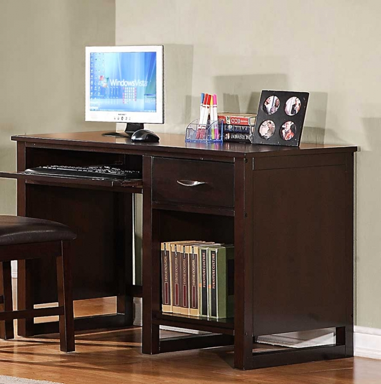 Paula II Writing Desk - Dark Cherry - Homelegance