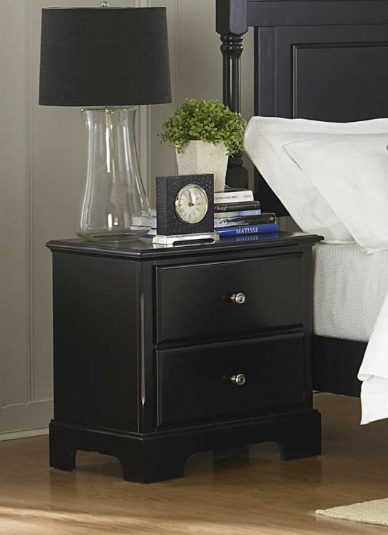 Morelle Night Stand - Black