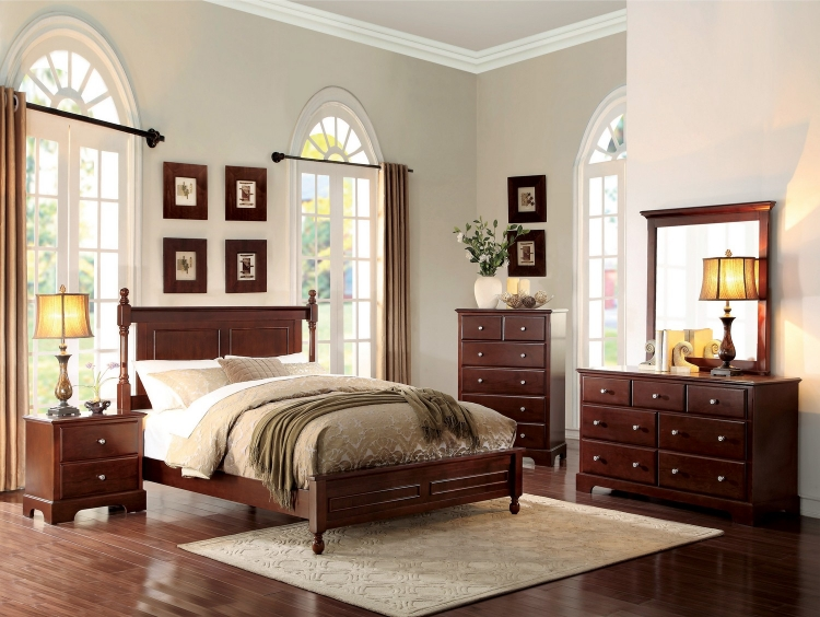 Morelle Bedroom Set - Cherry