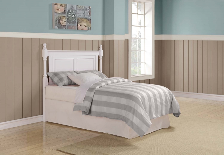 Morelle Headboard - White - Homelegance