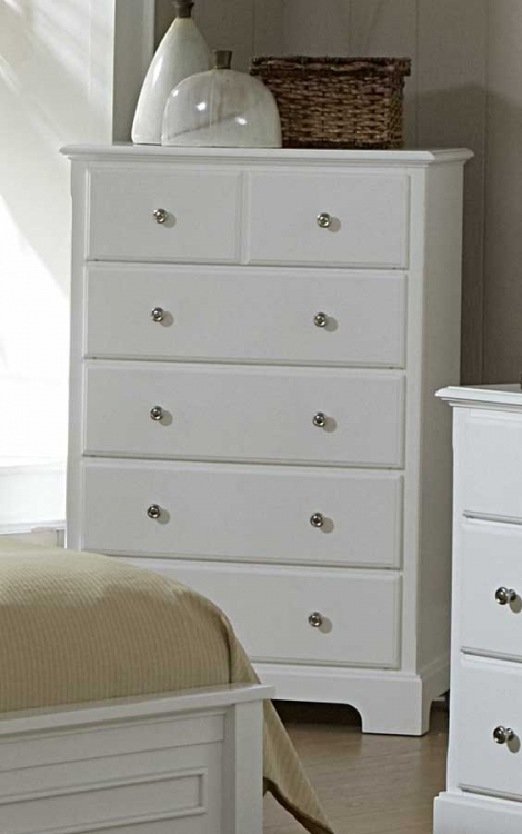Morelle Chest - White - Homelegance