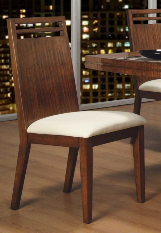 Zebrano Side Chair