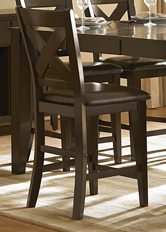 Crown Point Counter Height Chair - Homelegance