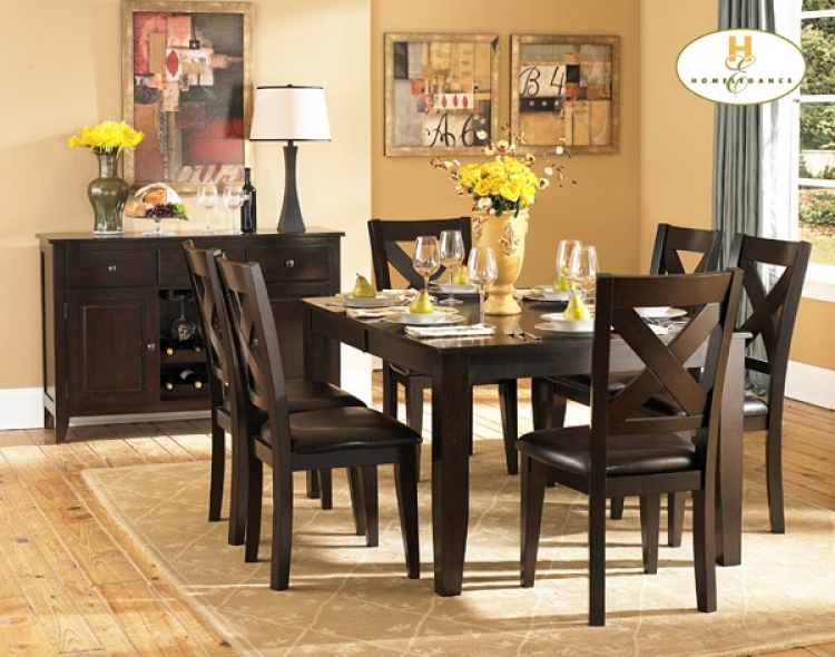 Crown Point Dining Set - Homelegance