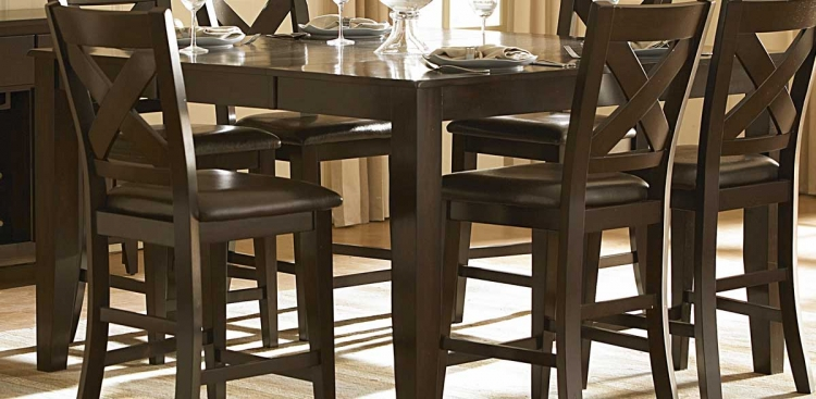 Crown Point Counter Height Table
