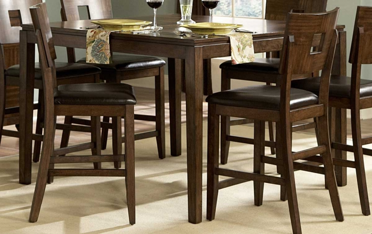 Baldwin Hills Counter Height Table - Homelegance