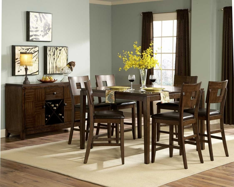 Baldwin Hills Counter Height Dining Set - Homelegance