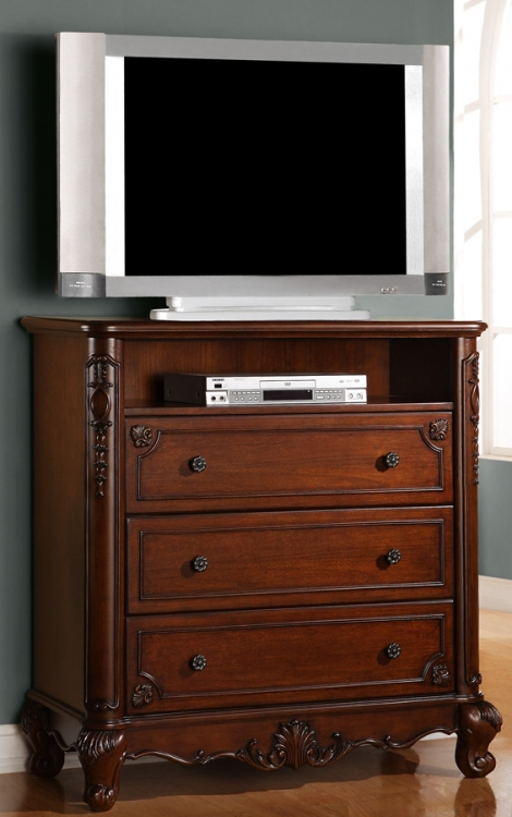 Madelaine TV Chest - Homelegance