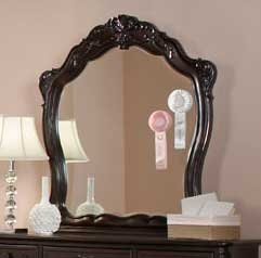 Cinderella Mirror - Dark Cherry - Homelegance