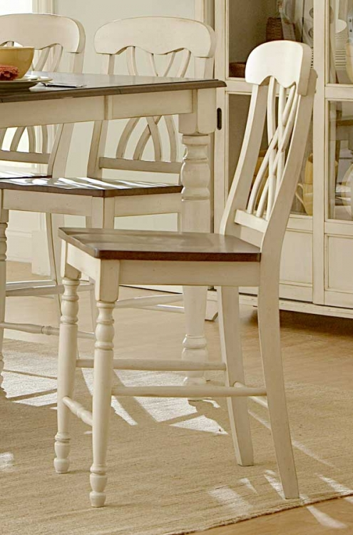 Ohana Counter Height Chair - White - Homelegance