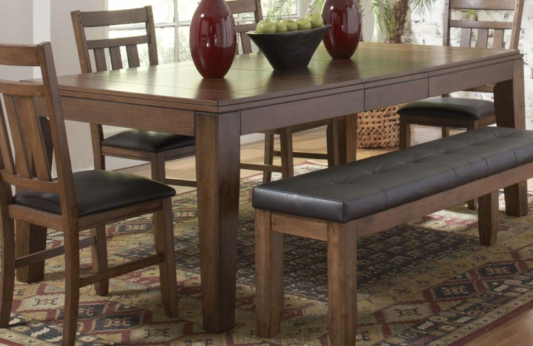 Kirtland Dining Table with Butterfly Leaf - Homelegance