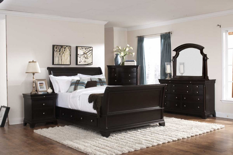 Inglewood Sleigh Platform Bedroom Set Special