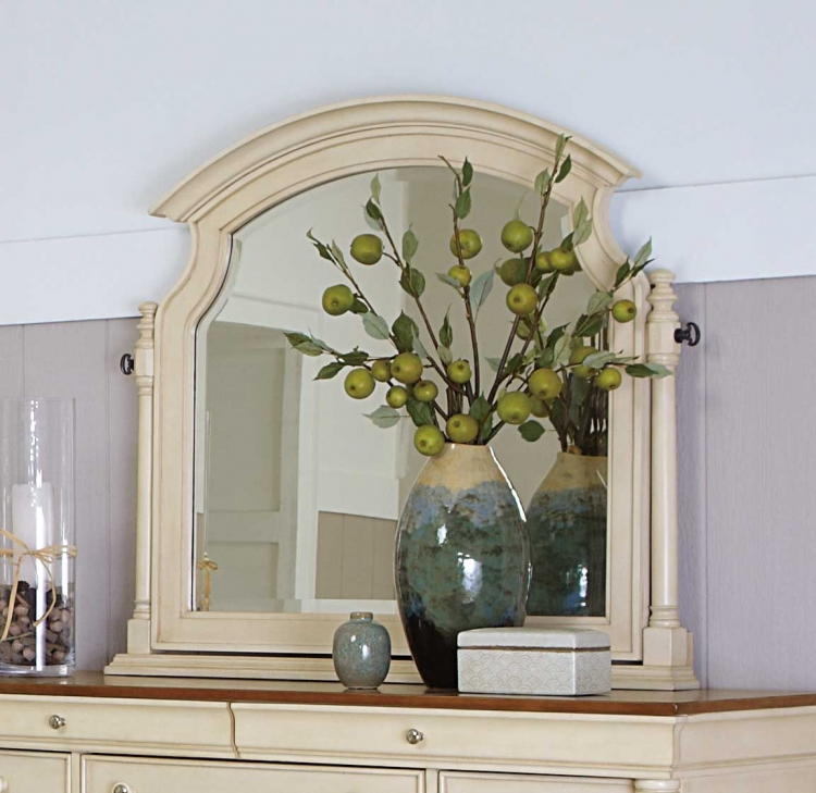 Inglewood II Swivel Mirror - White Finish