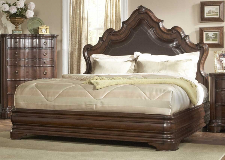 Perry Hall Bed - Bonded Leather