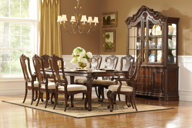 Perry Hall Dining Set - Homelegance