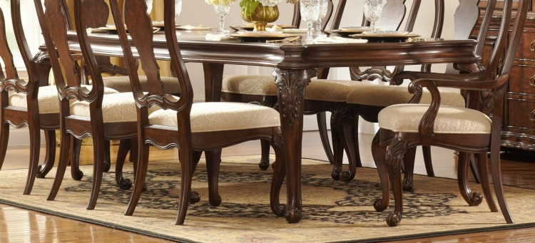 Perry Hall Leg Dining Table