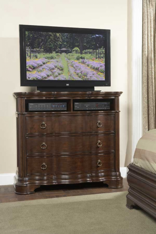 Perry Hall TV Chest - Homelegance