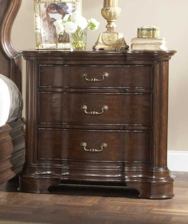 Perry Hall Night Stand - Homelegance