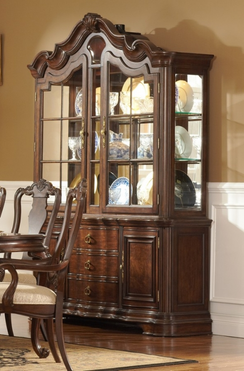 Perry Hall China Cabinet - Homelegance
