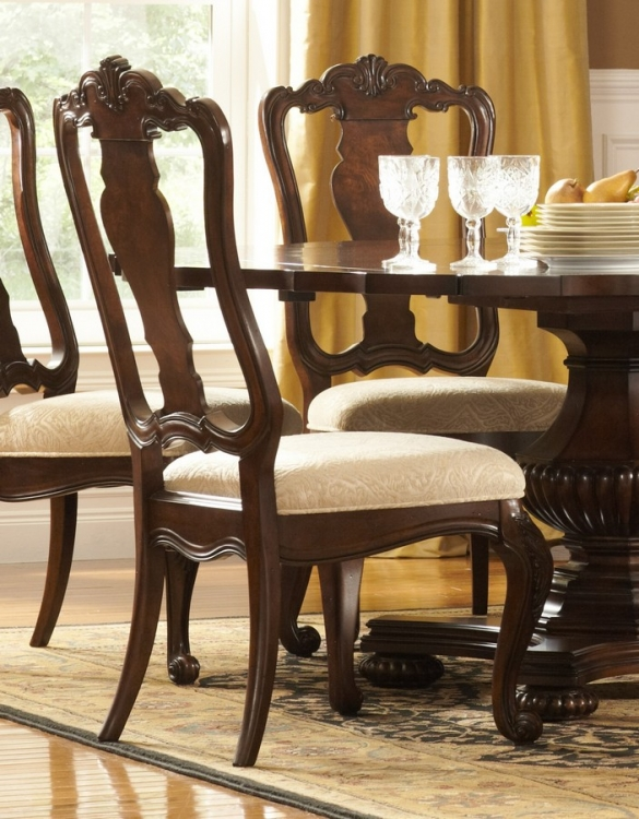 Perry Hall Side Chair - Homelegance
