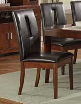 Elmhurst S2 Side Chair - Dark Brown - Homelegance